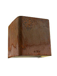 Ace Up-down Corten Wall up-down light 12V/7W LED Alu. Warm White